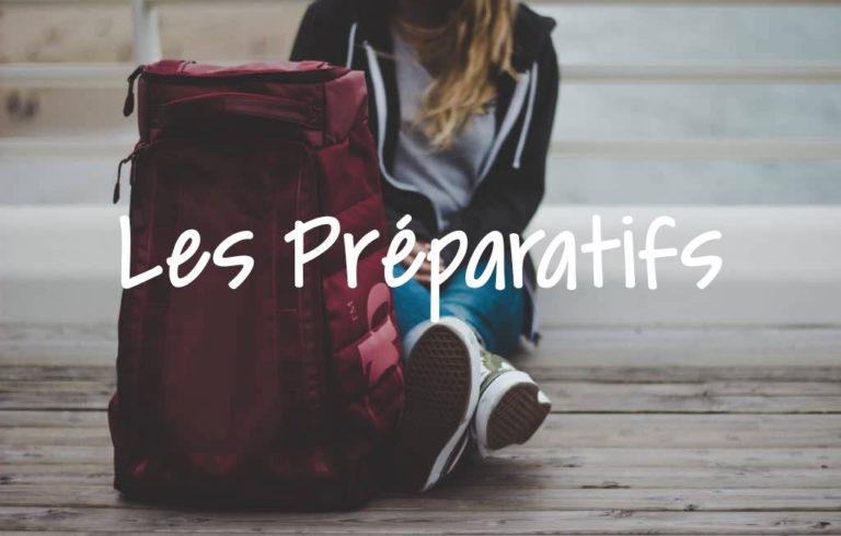 voyage préparatifs