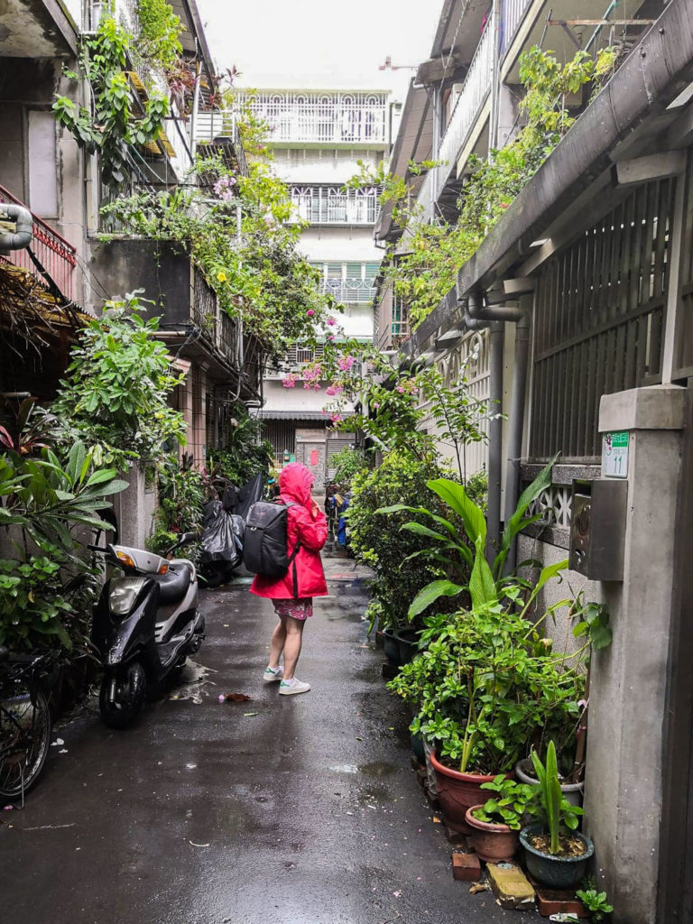 Taiwan taipei backpack travel voyage blog street