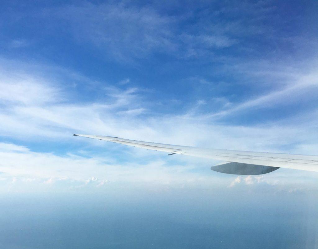vue hublot avion Taiwan travel voyage Taipei