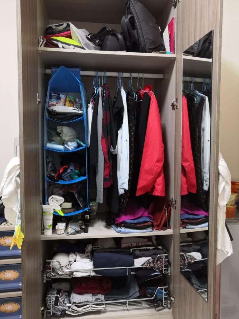 rangement armoire appartement