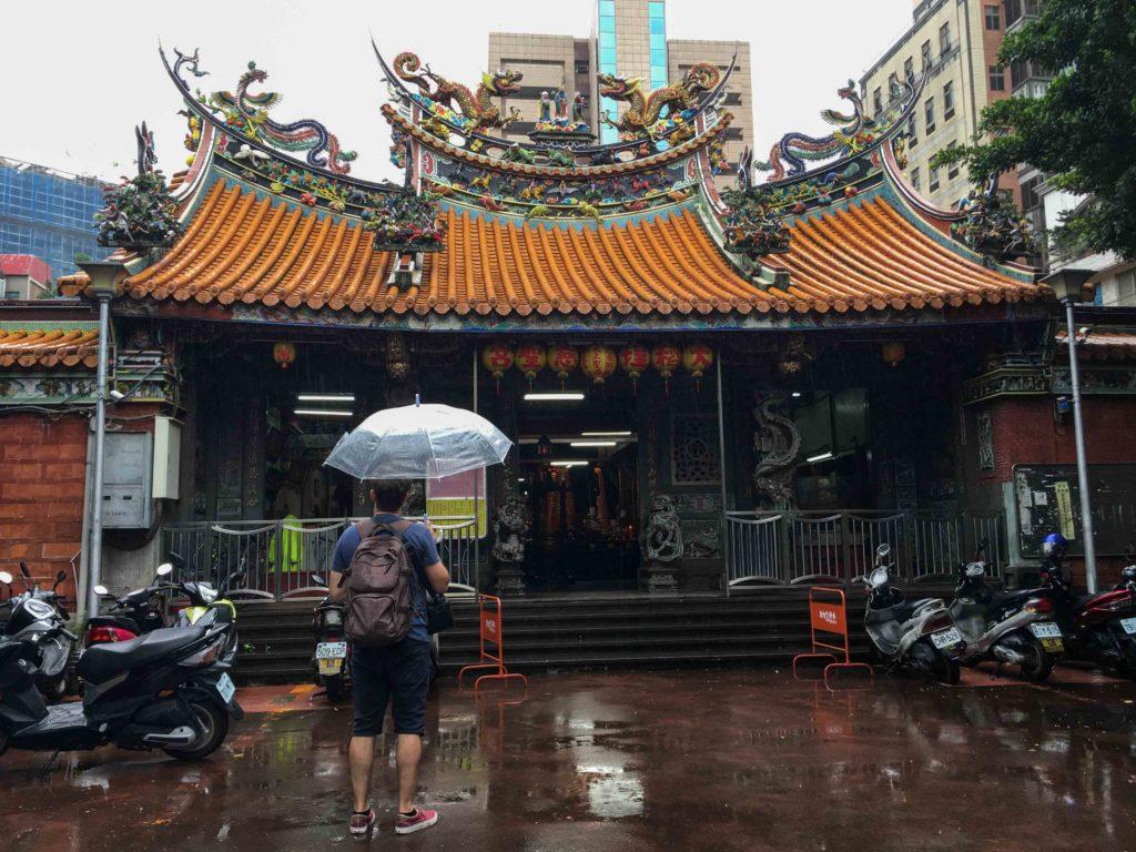 temple taipei visite voyage découverte Taïwan