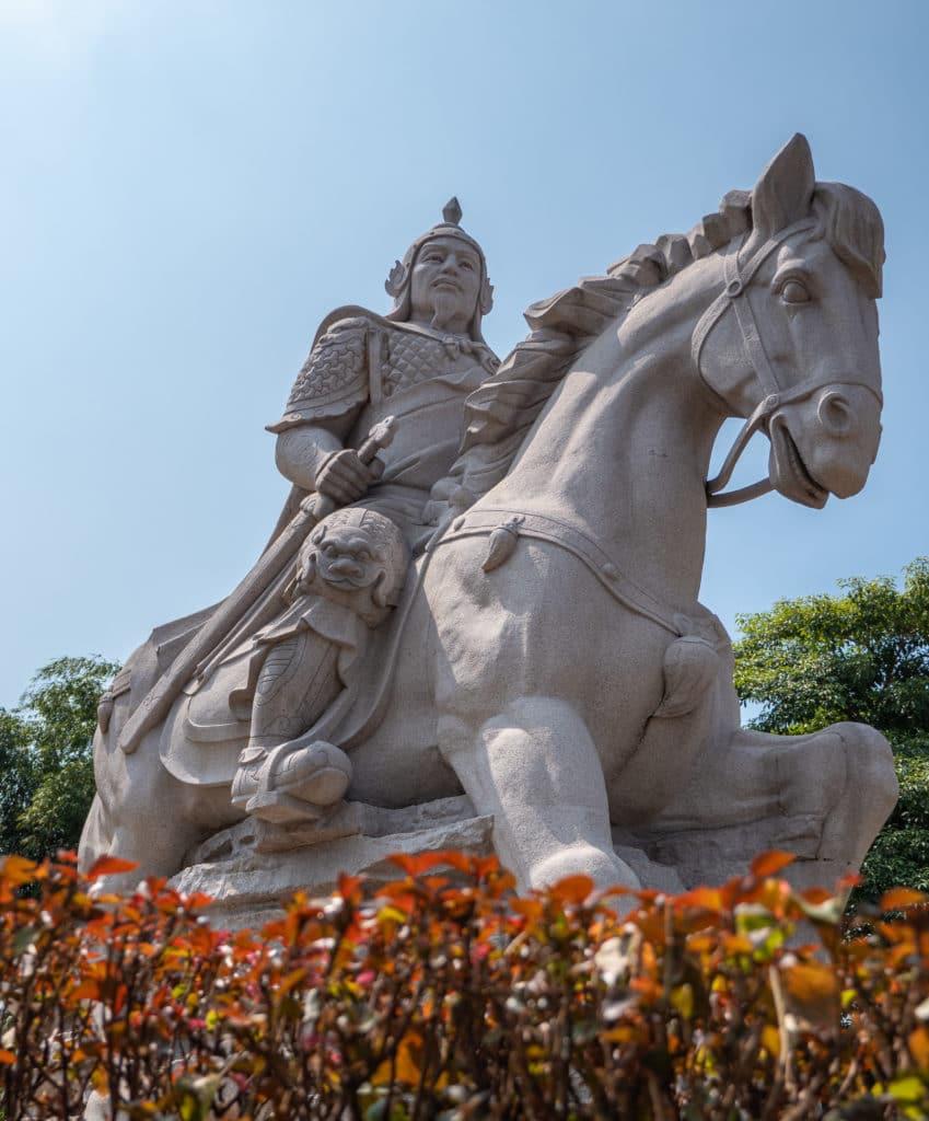 Koxinga Statue Tainan musée
