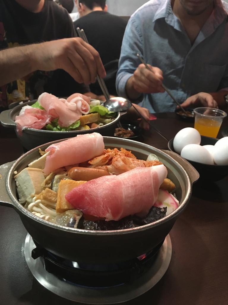 Hot Pot nourriture Tainan Taïwan