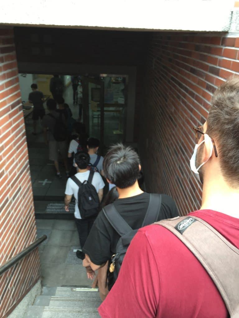 Distanciation sociale NCKU Cheng Kung University Taiwan prévention